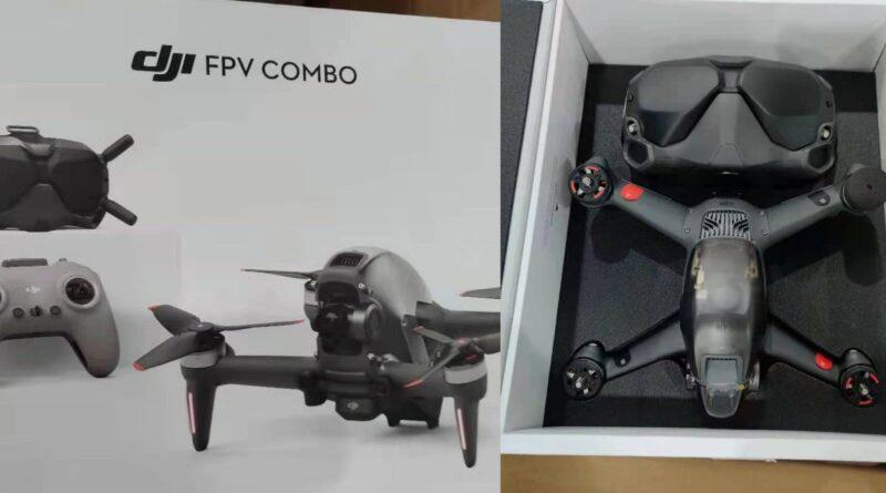 Photos leak for DJI's rumored 4K, 60P, 150 km/h cinematic FPV drone