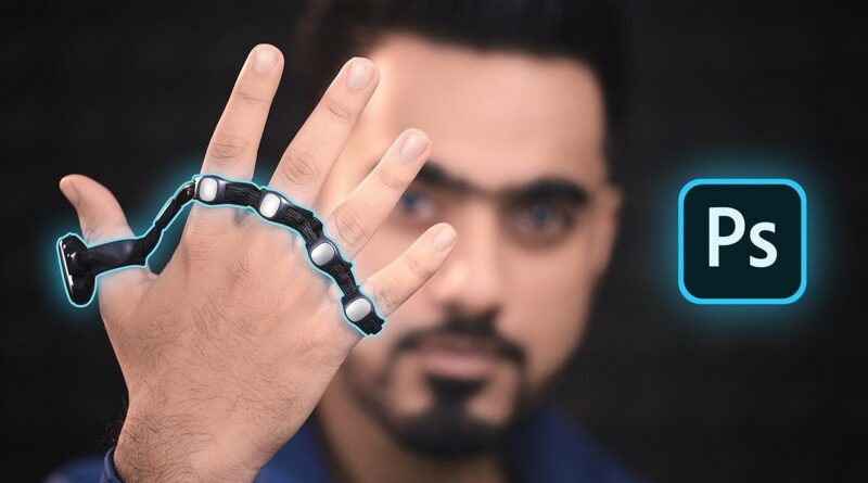 Controlling photoshop with hand gestures using this weird wearable device