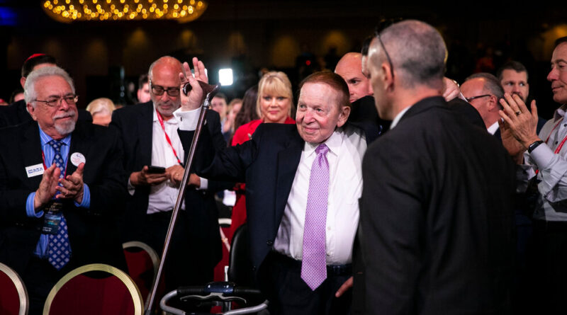How Republican Fund-Raising May Be Affected by Sheldon Adelson's Death