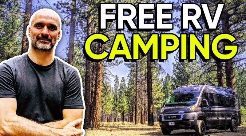 RV Newbie: 4 Ways to Find FREE Camping 🏕️ Cheap RV Living for Full Time RV Life 🚍