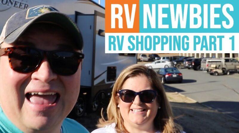 2019 RV Living Full Time | 2018 TIFFIN ALLEGRO (RV Newbie Shopping Tour – Class A & Travel Trailers)