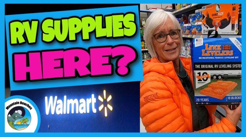 WALMART RV SUPPLIES? Junk or Not? Beginning RVers | RV Living