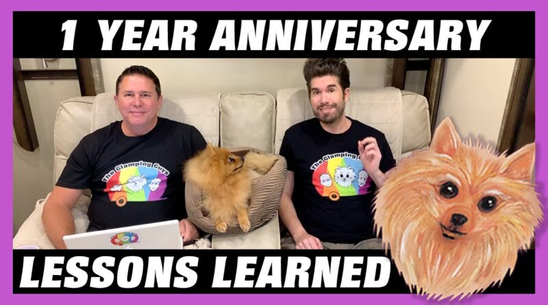 RV Newbie Lessons Learned after 1 Year of RV Living Full Time – Advice, Tips, Tricks, & Hacks – LGBT