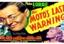 Mr. Moto's Last Warning 1939 — A Mystery / Crime Movie Full Movie