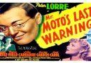 Mr. Moto's Last Warning 1939 — A Mystery / Crime Movie Full Movie