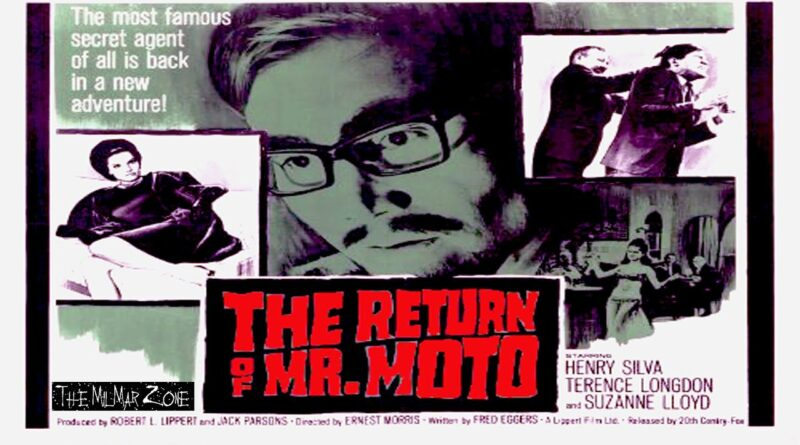 The Return of Mr.  Moto 1965 — A Mystery / Crime Movie Full Movie