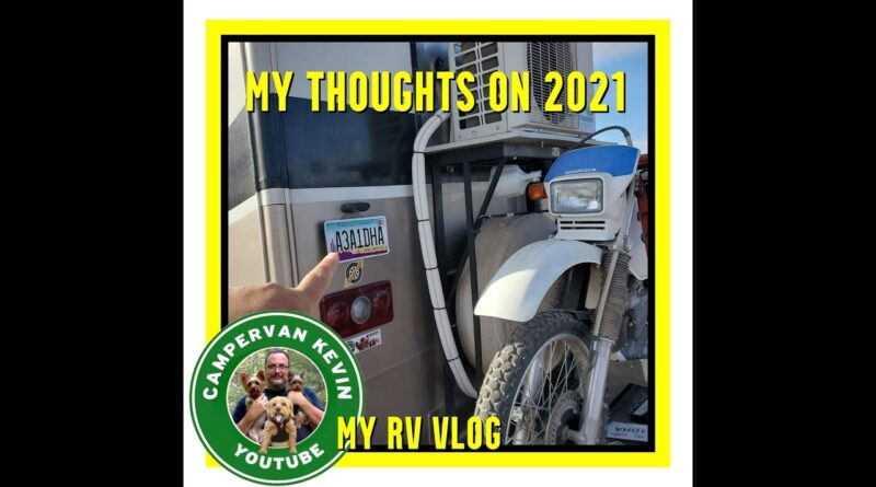 RV Chores In Quartzsite, Why I Changed My State Residency