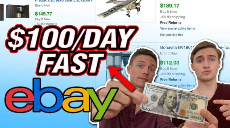 How To Make $100 A Day Fast Dropshipping On Ebay As A Complete Beginner!