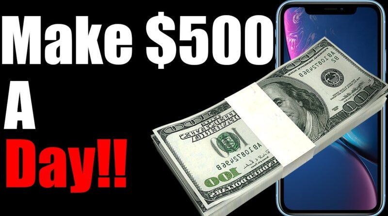 Make $100 to $500 Dollars a day No money needed (Side Hustle) Quit Your Job