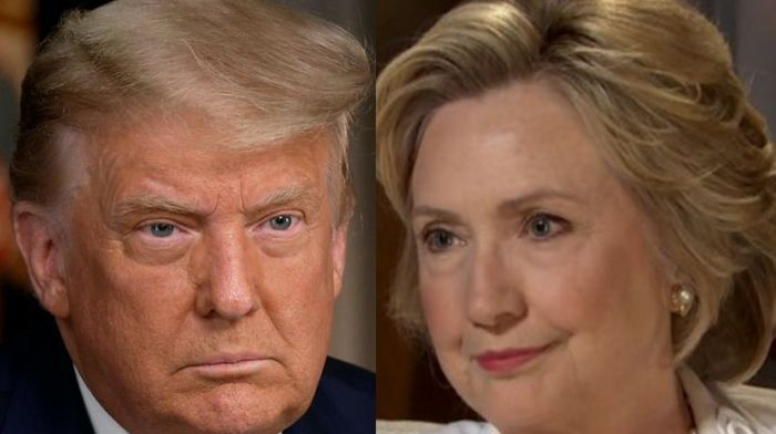 Hillary Clinton Claims That Impeaching Trump Will Not Be Enough To 'Remove White Supremacy From America'