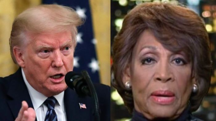Maxine Waters Warns Trump May Want 'Civil War' – Wants Him 'Stopped Dead In His Tracks, However We Do It'