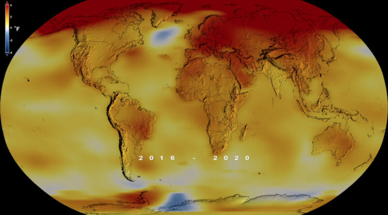 2020 Tied for Warmest Year on Record, NASA Analysis Shows