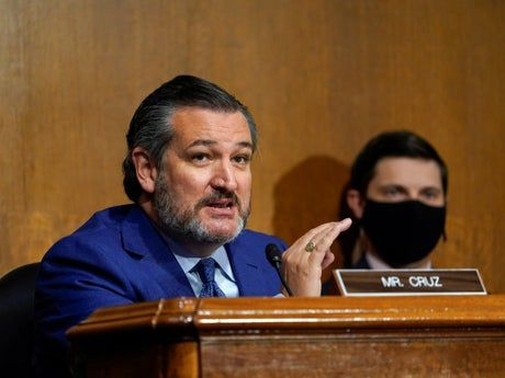 Texas newspapers call for resignation of state's senator Ted Cruz after Capitol riots
