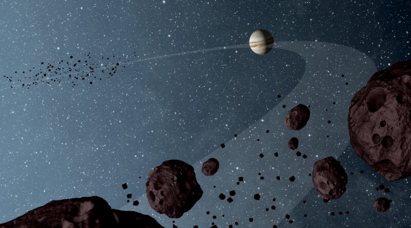 Lucy Mission to Study Trojan Asteroids