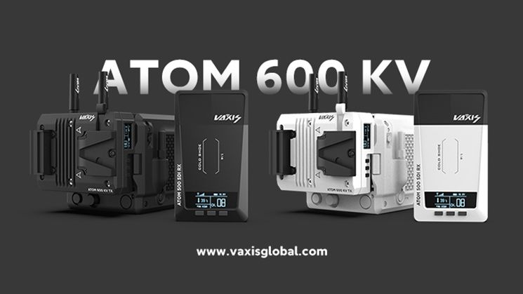 Vaxis launches the Atom 600 KV video transmitter for the RED Komodo in Stormtrooper White