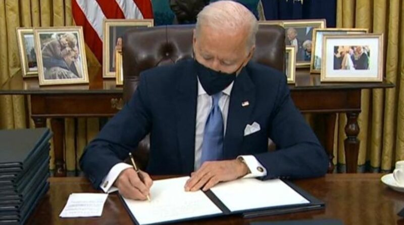 President Biden lays out plans for next 100 days during first day in office