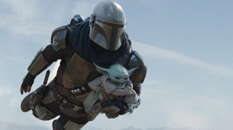 A Mandalorian and Baby Yoda spotted speeding through Los Angeles streets