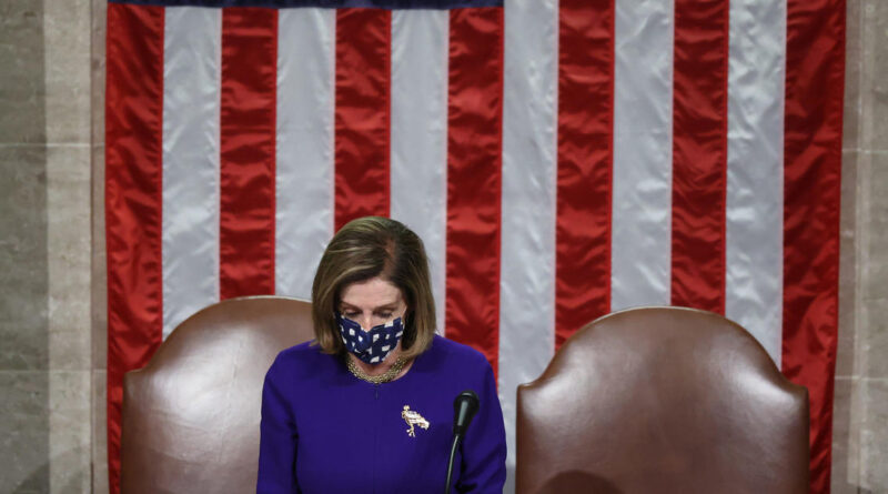 Watch Live: Pelosi holds press conference in wake of assault on Capitol