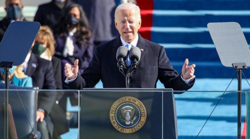 "Biden sworn in as 46th president, declaring ""democracy has prevailed"""