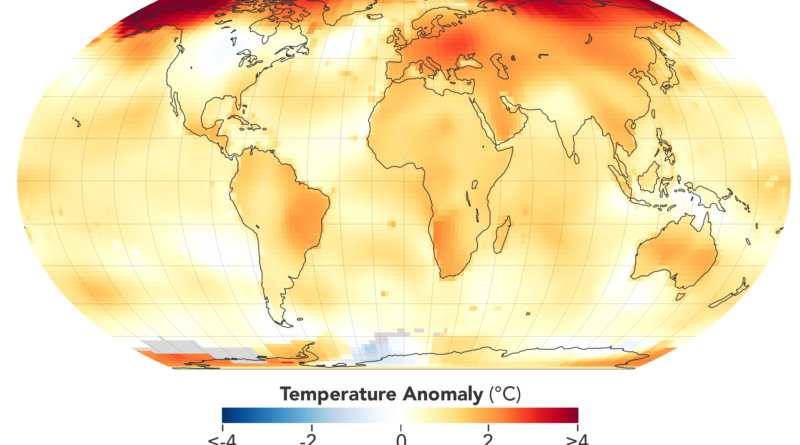 NASA, NOAA to Announce 2020 Global Temperatures, Climate Conditions