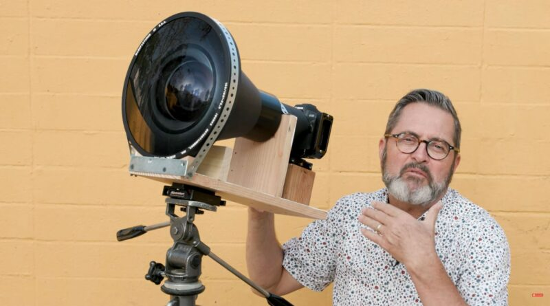 Photographer rigs an IMAX projector lens to a Canon EOS R