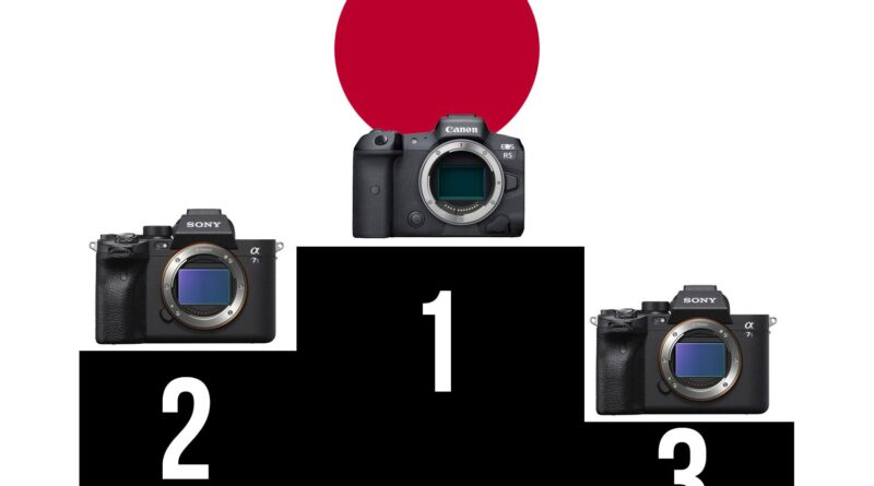 Canon EOS R5 snags first place in Japan camera sales