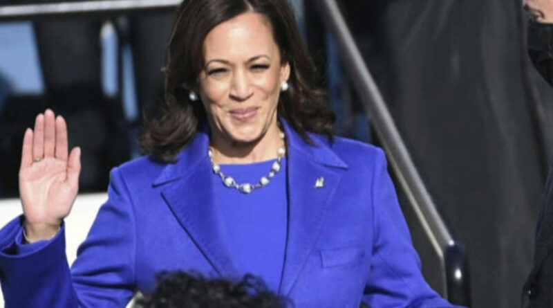 Harris shatters race and gender barriers in historic swearing in ceremony