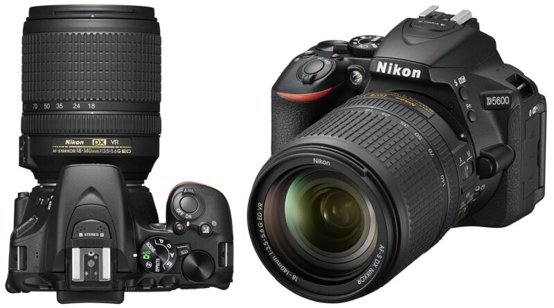 Japan's top-selling DSLR in 2020 was the Nikon D5600 – Wait, what?