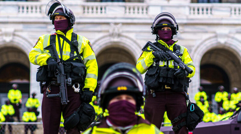 States prepare for violence ahead of Inauguration Day