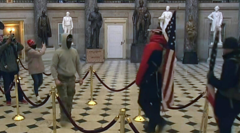 Capitol on lockdown as protesters storm building to stop electoral count