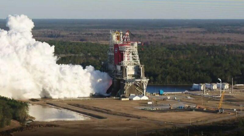 NASA Invites Media to Update on Rocket Test for Artemis I Moon Mission