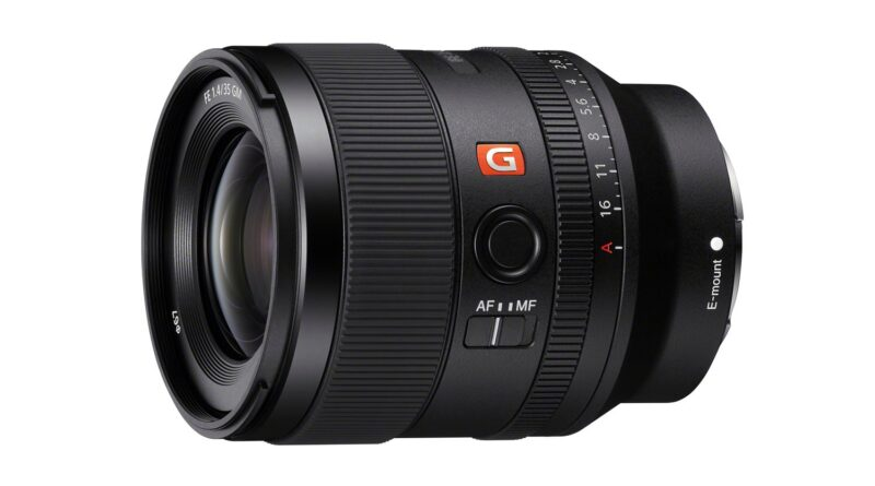 Sony Releases a Gorgeous (and Expensive) 35mm f/1.4 Lens