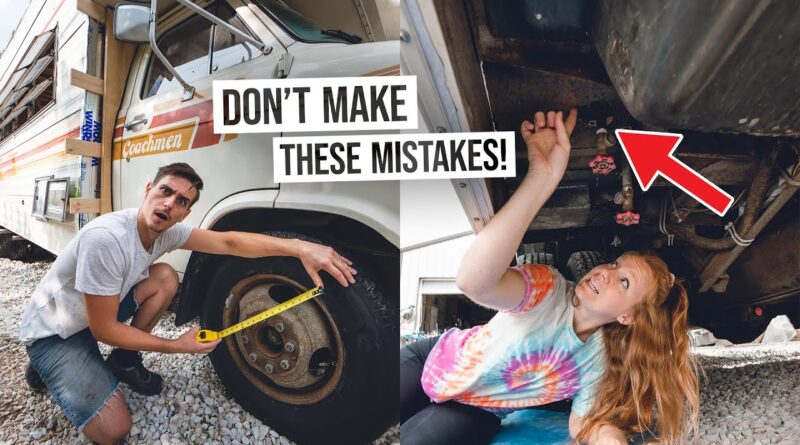 Vintage RV Buying Guide – TOP 12 Things to Look for Before Purchasing an Old RV!