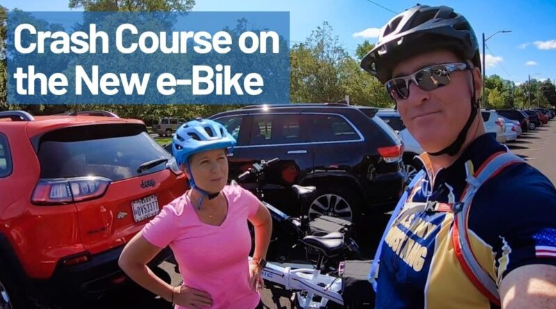Crash Course on our new e-Bike –  Full Time RV Living