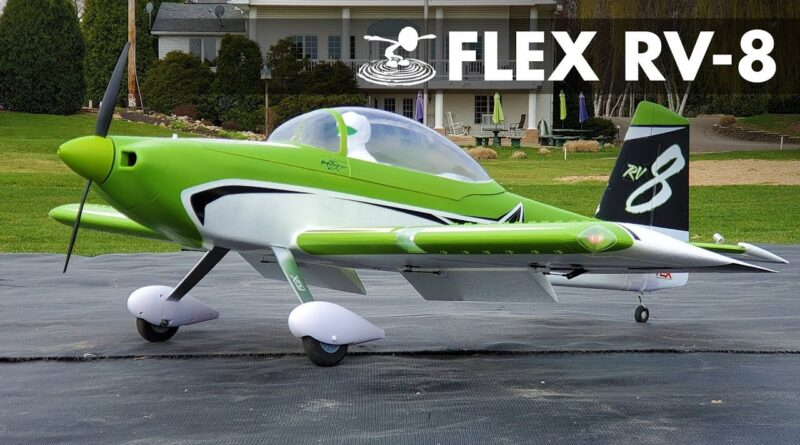 The do it all Airplane | RV-8 by Flex Innovations