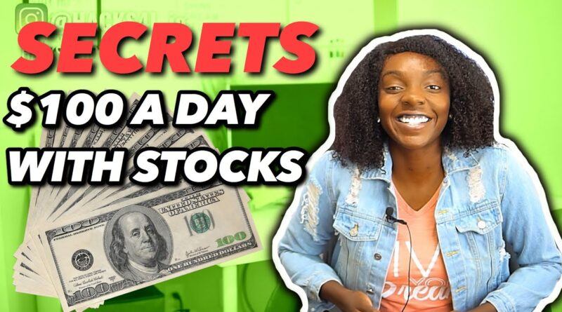 How To Make $100 a Day Trading Stocks and Options