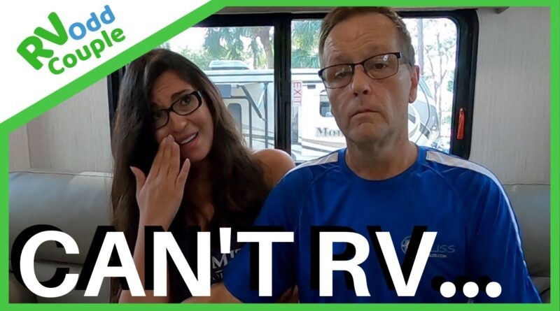 When your RV plans don't work out (7 Stationary RV Living Tips) RVing Full Time