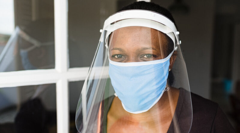Face Shields May Cut COVID Spread in Hair Salons