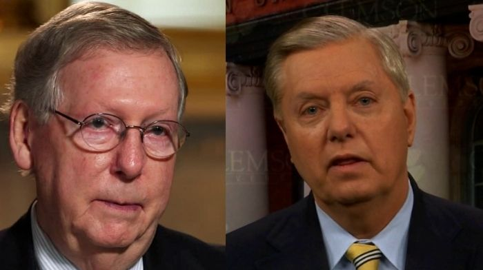 Lindsey Graham Says Mitch McConnell's Anti-Trump Speech May Come Back To Bite Republicans