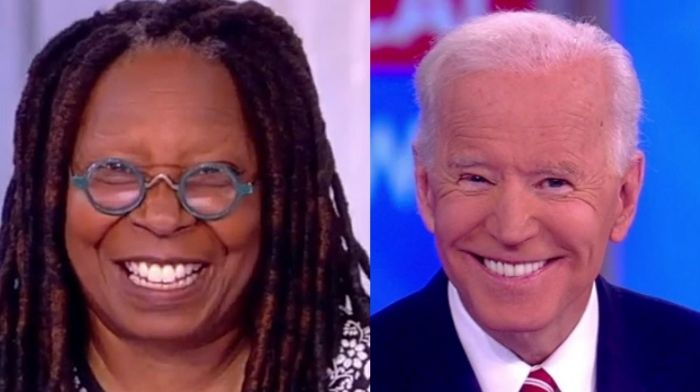 Whoopi Goldberg Gushes Over Biden – 'We Finally Have A President In Office Who We Are Honored To Celebrate'