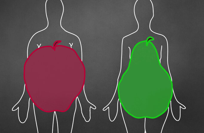 The link between abdominal fat and death: What is the shape of health? – Harvard Health Blog