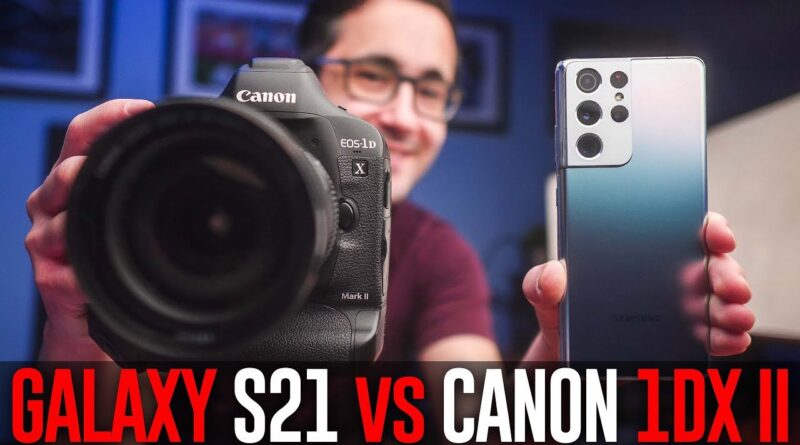 Can the 108mp Samsung Galaxy S21 Ultra stand up against a $6,000 pro DSLR?