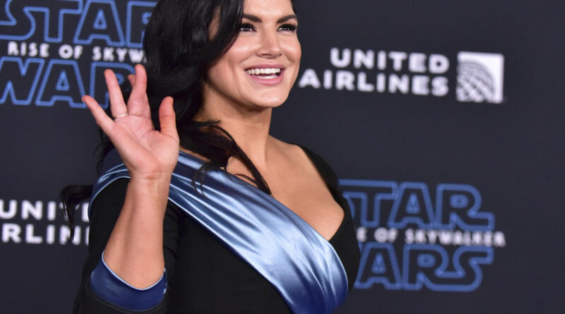 """""""Mandalorian"""" actress Gina Carano dropped by Lucasfilm and talent agency after controversial tweets"""
