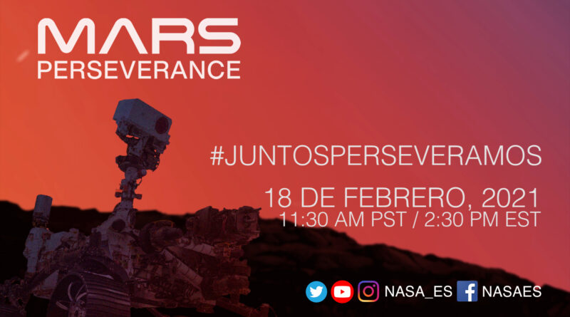 NASA to Offer Spanish-Language Show for Mars Perseverance Rover Landing