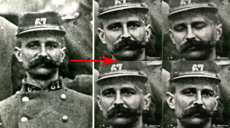 This tool turns old photos of your ancestors into creepy animations