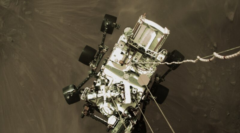 NASA to Reveal New Video, Images from Mars Perseverance Rover