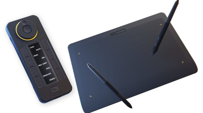 Xencelabs launches their first graphics tablet and a very interesting looking remote