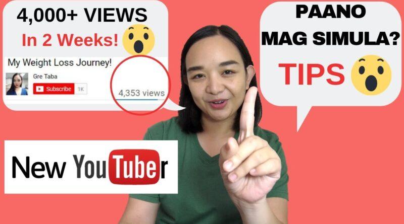Paano gumawa ng Youtube Channel | New Youtuber | Tips paano mag start mag vlog | GRE TABA