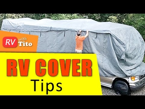 How To: Protect Your RV During The Winter With an RV Cover