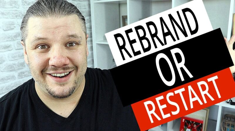 REBRAND Your YouTube Channel or Start A NEW CHANNEL? (OLD Channel vs NEW Channel)